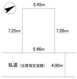 下丸子三丁目売地配置図 (002)